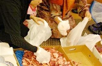 توزيع 52 ألف كيلو لحوم في بني سويف على الأسر الأكثر احتياجًا ومحدودي الدخل