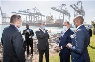 وفد التجارة الحرة الإفريقية يزور المنطقة الاقتصادية لقناة السويس | صور