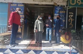 تشميع كافتيريا في حملة على المطاعم والمقاهي بمدينة سفاجا | صور