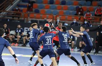 اليابان تتقدم على أنجولا 16 - 12 في الشوط الأول بمونديال اليد