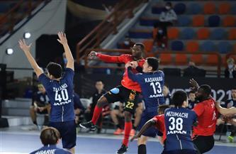 اليابان تهزم أنجولا 30 - 29 وتتأهل للدور الرئيسي بمونديال اليد