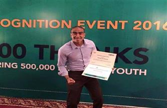 المصري حسن غزالي ضمن التصفيات النهائية لجائزة «أفريكان رايزنج» | صور