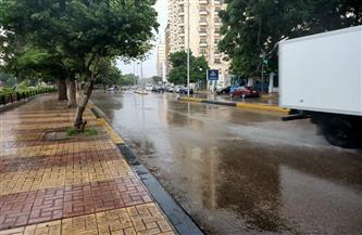 تجدد هطول الأمطار الغزيرة على الإسكندرية في أول أيام نوة الغطاس | صور