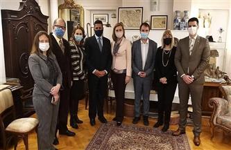 احتفالية لمتحف الكتاب الصربى احتفاءً بتقديم كتابين موقعين لنجيب محفوظ ومحمد سلماوي | صور