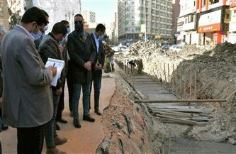 محافظ الفيوم يكلف المسئولين بوضع ساتر معدني حول أعمال تغطية بحر دار الرماد | صور