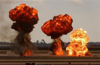 التلفزيون السوري: انفجارات وحريق في منشأتين للنفط والغاز بحمص