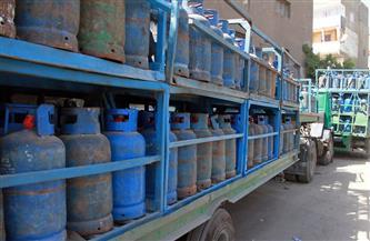 ضبط 501 قضية مواد بترولية وأسطوانات بوتاجاز في 4 أيام