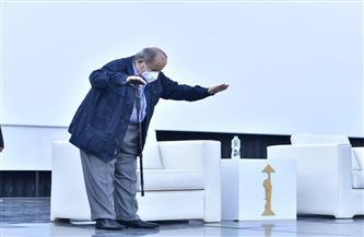 وفد من سفارة فلسطين ينقل تعازي الرئيس الفلسطيني بعد وفاة وحيد حامد