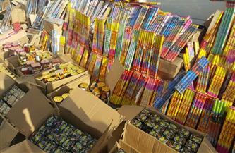 ضبط أكثر من 3 ملايين قطعة ألعاب نارية بالقاهرة