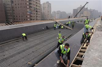 وزير النقل يتابع أعمال التطوير والصيانة للدائري ونقل المرافق المتعارضة مع أعمال التطوير| صور