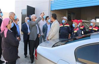 محافظ جنوب سيناء يتفقد محطة تحويل السيارات للعمل بالغاز الطبيعي بشرم الشيخ | صور