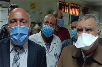 «صحة الغربية» توضح حقيقة ما تردد عن وفاة حالات كورونا نتيجة نقص الأكسجين بمستشفى زفتى العام| صور