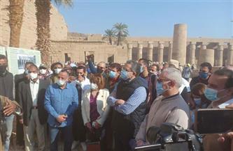 وزير السياحة يغير مواعيد عمل السوق السياحية في الأقصر صور