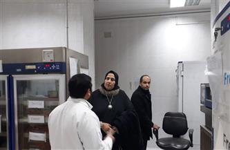 زيادة قوة قسم العزل بمستشفى الحامول المركزي لعلاج مرضي كورونا