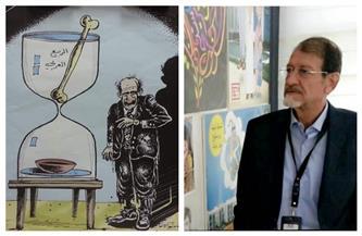 رحيل رسام الكاريكاتير السوري موفق فرزات عن عمر ناهز 71 عاما | صور