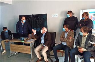 «الغضبان»: الحكومة قررت تعميم منظومة بورسعيد لشبكات المرافق ووحدة نظم المعلومات الجيومكانية | صور