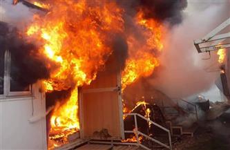 السيطرة على حريق بعقار في البساتين دون خسائر