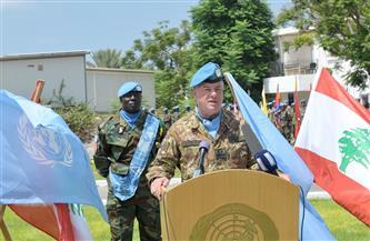 """قائد اليونيفيل: استمرار دعم المجتمع الدولي للجيش اللبناني يحافظ على السلام في """"الجنوب"""""""