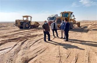 مديرعام إدارة المياه الجوفية يتفقد مشروعات حماية الزعفرانة من أخطار السيول | صور