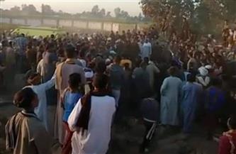 المئات يشيعون جثمان الشهيد بركات ناصر في قرية الحجيرات بقنا