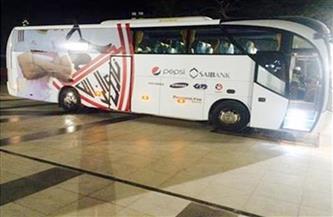 حافلة الزمالك تصل إلى إستاد «بتروسبورت»