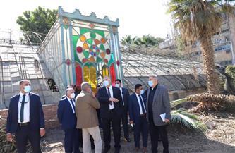 وزير الزراعة يتفقد حديقة الزهرية بالزمالك ويوجه بتطويرها| صور