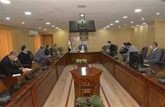 محافظ أسيوط يلتقي مدير بنك مصر وممثل وزارة قطاع الأعمال| صور