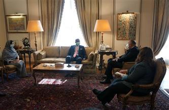 وزير الخارجية يستقبل السكرتير العام لاتفاقية التجارة الحرة القارية الإفريقية| صور