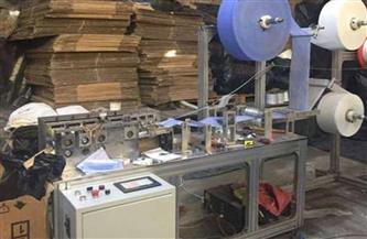ضبط مصانع ومخازن وشركات عشوائية في إنتاج المنظفات والمطهرات المغشوشة