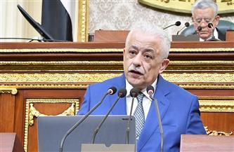 """وزير التربية والتعليم بمجلس النواب: """"بنهد المعبد وبنعمل تعليم فني جديد"""""""