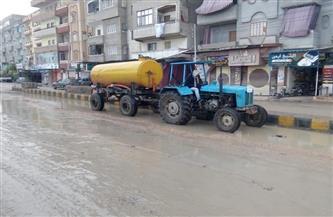 استمرار حالة الطوارئ بسبب الطقس السيئ بكفر الشيخ | صور