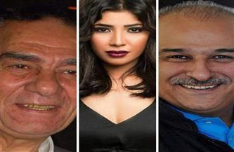 """أحمد فؤاد سليم ومها نصار أمام جمال سليمان في """"الطاووس"""" رمضان 2021"""