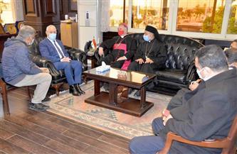 محافظ الأقصر يستقبل سفير دولة الفاتيكان| صور