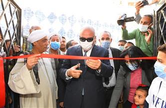 افتتاح المركز التكنولوجي لخدمات المواطنين بإدارة التموين بقفط | صور