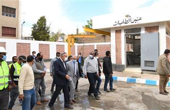 محافظ قنا: بدء تشغيل مشروع الصرف الصحي لمدينة قفط خلال الأيام المقبلة
