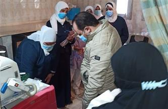 وكيل صحة بورسعيد يتابع أعمال تطوير مستشفى الصدر | صور
