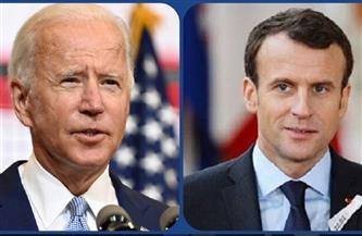 """ماكرون لبايدن: """"مرحبا بعودتك"""" إلى اتفاق باريس للمناخ"""