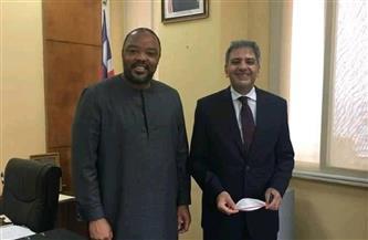 السفير المصري في مونروفيا يلتقي نائب وزير الخارجية الليبيري