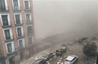 """""""إيه بي سي نيوز"""": مقتل 4 أشخاص نتيجة وقوع انفجار غازي قوي وسط العاصمة الإسبانية"""