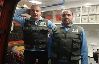 مسعف وسائق يسلمان 392 ألف جنيه عثرا عليها بحوزة مصاب في طنطا