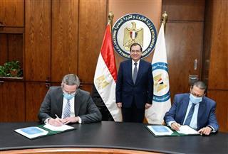 وزير البترول يشهد توقيع باكورة عقود البحث عن الذهب باستثمارات 13 مليون دولار| صور