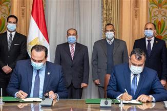 وزير الإنتاج الحربي يشهد توقيع بروتوكول تعاون مع الهيئة العامة للرعاية الصحية| صور