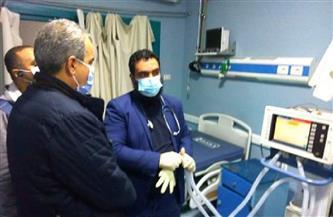 في زيارة مفاجئة.. وكيل وزارة الصحة بالبحر الأحمر يتفقد مستشفى حميات الغردقة| صور