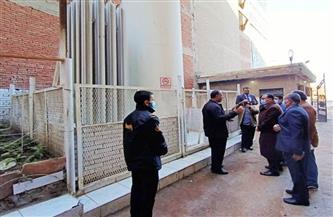 محافظ الشرقية يتفقد أقسام المستشفى المركزي بمنيا القمح| صور