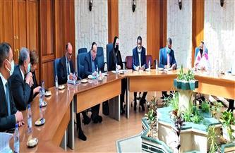 وزيرة التجارة تبحث تطورات إنشاء المنطقة الصناعية المصرية وتشغيل المركز التجاري بالخرطوم | صور