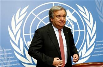 """""""جوتيريش"""" في أول تعقيب له عقب فوزه بجائزة """"زايد"""": أعتبرها تقديرًا لجهود الأمم المتحدة"""