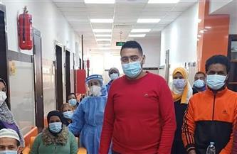 """""""الصحة"""" بالشرقية: تعافي 58 حالة مصابة بالكورونا بمستشفى الأحرار"""