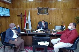 وكيل وزارة تعليم قنا: التقدم بطلب لتشغيل بئر مياه لمدرسة العمرة