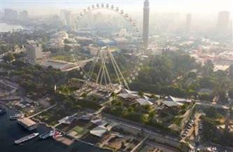 """تتيح رؤية القاهرة لمسافة 50 كم.. """"بوابة الأهرام"""" ترصد 7 معلومات عن العجلة الدوارة"""