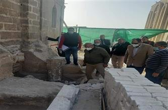 جولة لرئيس قطاع الآثار الإسلامية بمشروع ترميم آثار قرية البهنسا بالمنيا